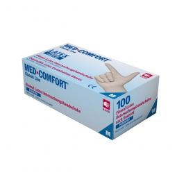 Latexhandschuh Med-Comfort - puderfrei