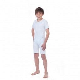 Pflegebody für Kinder mit teilbarem Reissverrschluss am Bein