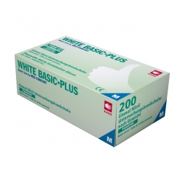Nitril Einweghandschuhe - Basic Plus / puderfrei, latexfrei - 200er Packung