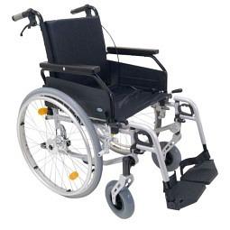 Leichtgewicht-Rollstuhl Freetec mit Begleitpersonenbremse