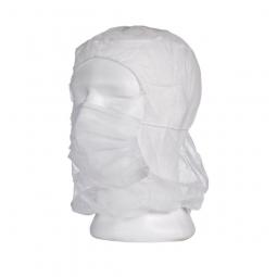 PE-Astronautenhaube mit integriertem Mundschutz