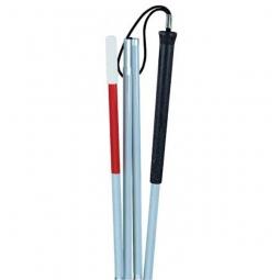Blinden-Taststock mit Moosgummigriff und Handschlaufe