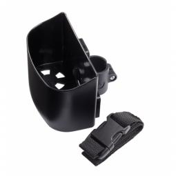 Porte-canne pour fauteuil roulant