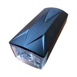 Lampe frontale noire pour déambulateurs et fauteuils roulants