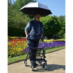 Regenschirm/Sonnenschirm zu Active Walker schwarz