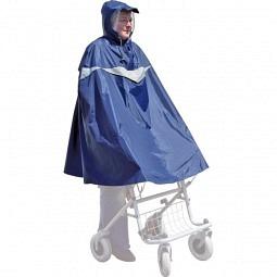 Poncho pour déambulateur, bleu