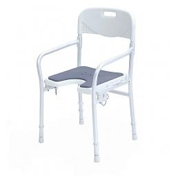 Duschklappstuhl 9400-A mit weicher Sitzauflage