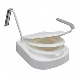Réhausseur pour siège de toilettes Relaxon Star avec accoudoirs