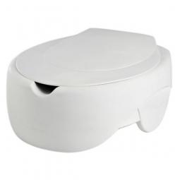 Toilettensitzerhöhung Soft mit Deckel