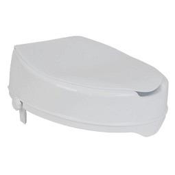 Toilettensitzerhöhung Care mit Deckel - 10 cm