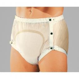 Slip PVC cuisses variables pour Femmes et Hommes laiteux