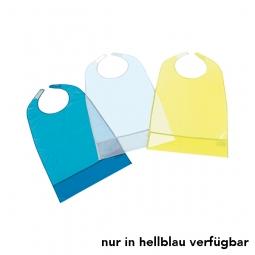 Ess-Schürze PVC hellblau