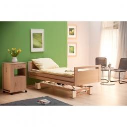 allegra living, lit médicalisé confortable avec pieds..