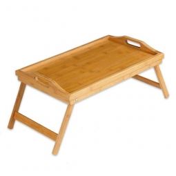 Bett- und Arbeitstisch aus Bambus