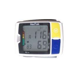 Blutdruckmessgerät für das Handgelenk mit Sprachausgabe