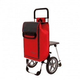 Einkaufswagen mit Sitz und Kühlfach