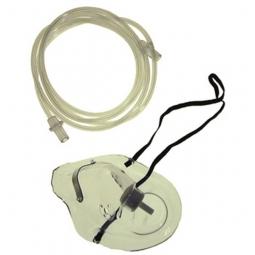 Masque à oxygène pour adultes, avec tuyau O2