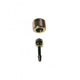 Raccord pour tuyau avec écrou borgne, acier inoxydabl..