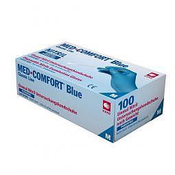 Gants nitrile jetables Blue Comfort