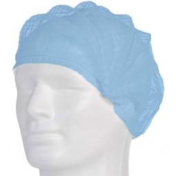 PP-Klipphauben, Medium, blau - 100 Stück