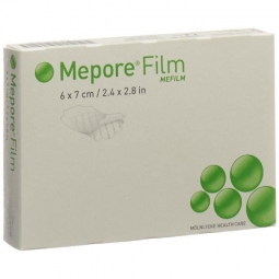 Mepore Film Pansement film transparent 6 x 7 cm, stérile