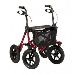 Déambulateur d'extérieur à roues gonflables Taima XC  Déambulateur d'extérieur à roues gonflables Taima XC standard