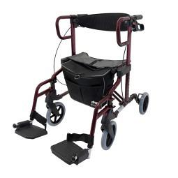 Déambulateur/fauteuil de transfert Diamond de luxe