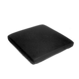Housse pour incontinence pour coussin d'assise, noire, lavable