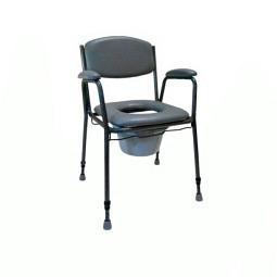 Chaise toilettes TS 130 avec seau et couvercle