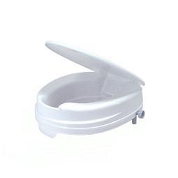 Toilettensitzerhöhung Relaxon Basic ohne Armlehnen mit Deckel