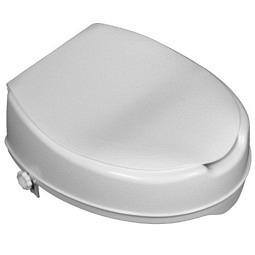 Réhausseur de toilette 5 cm avec abattant