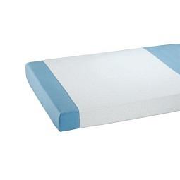 Alèse en tissu éponge avec revêtement en PU 90x150cm