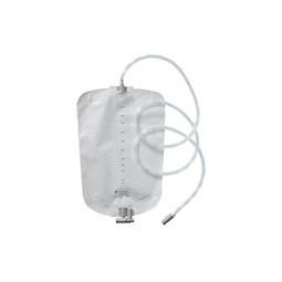 Poche à urine/poche de jambe Conveen Security Plus non stérile de 2000 ml - flexible 140 cm