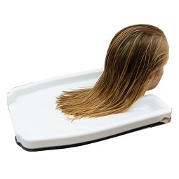 Bac de lavage de cheveux en plastique