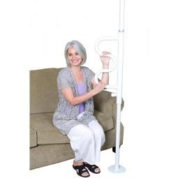 Pole, Boden-Deckenstange mit Griff