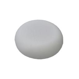 Coussin latex avec housse en tissu éponge, ovale