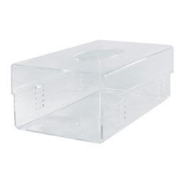 Support pour boîte de gants, en acrylique transparent