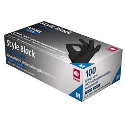 Nitril Einweghandschuhe Style Black