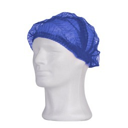 Bonnet de bain à clip Eco Plus en PP, Medium, bleu