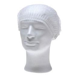 Bonnet de bain à clip Eco Plus en PP, Medium, blanc - 100 pièces